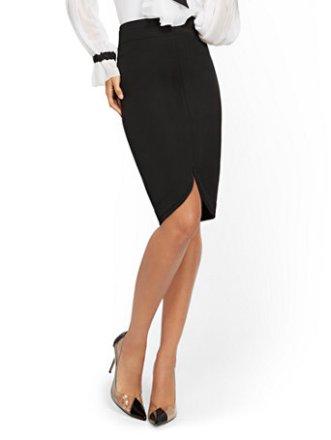 Black-Curved-Hem-Pencil-Skirt-7th-Avenue_04479829_006